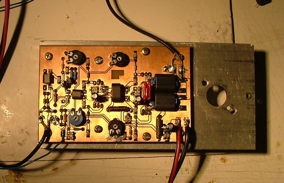 20w Hf Linear Power Amplifier