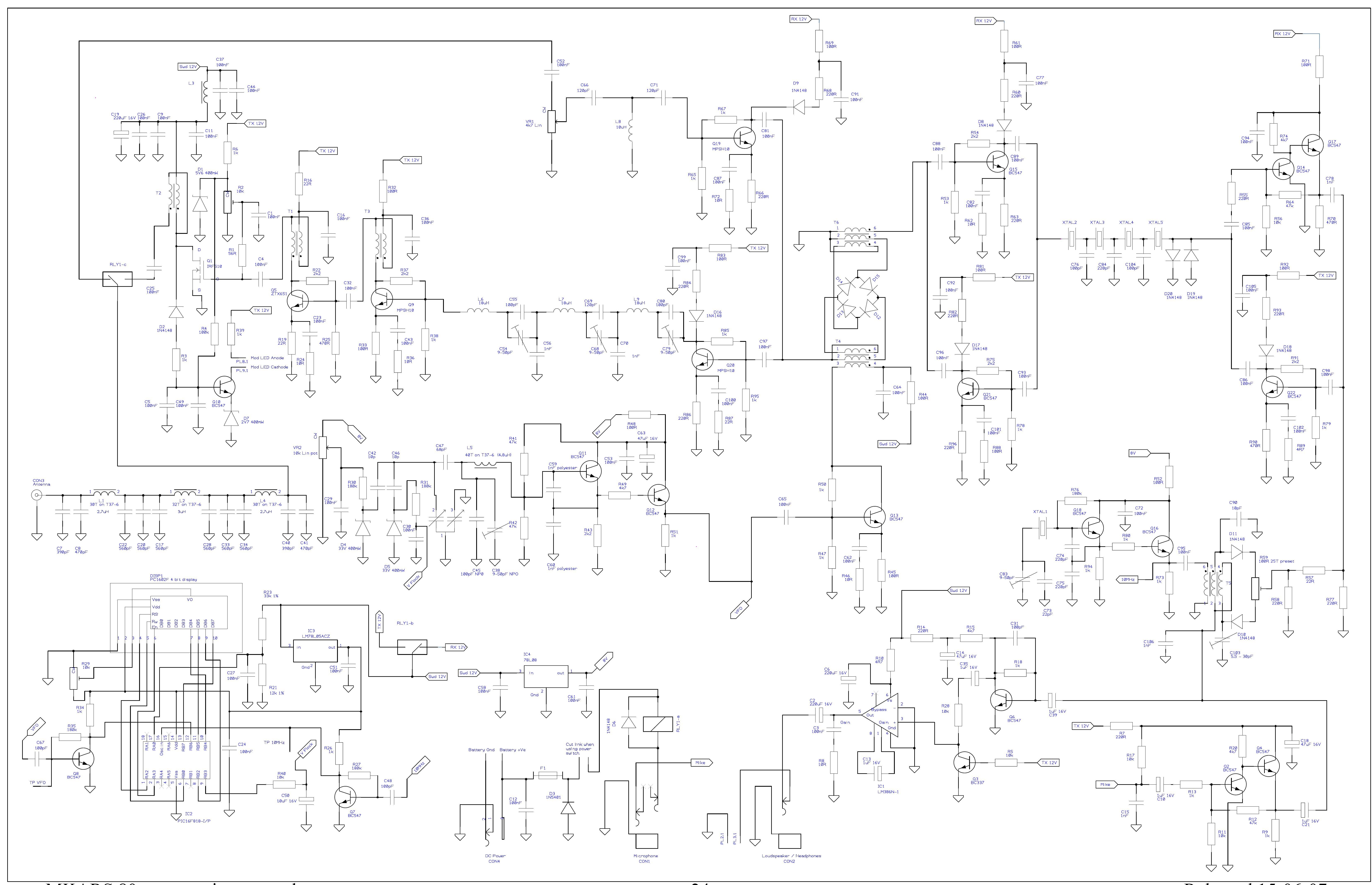 Radio-Kits - MKARS80 LSB QRP Transceiver